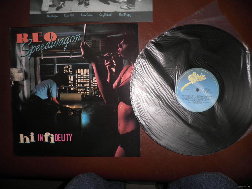 REO Speedwagon - Hi Infidelity (1980 USA)Как новая!  Купить