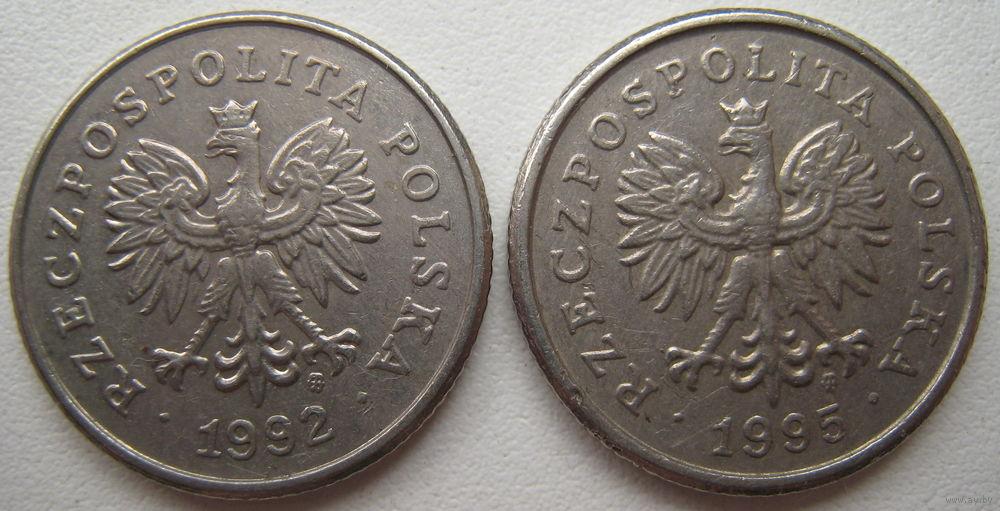 Монета 50 грошей 1992 цена монета белый мишка