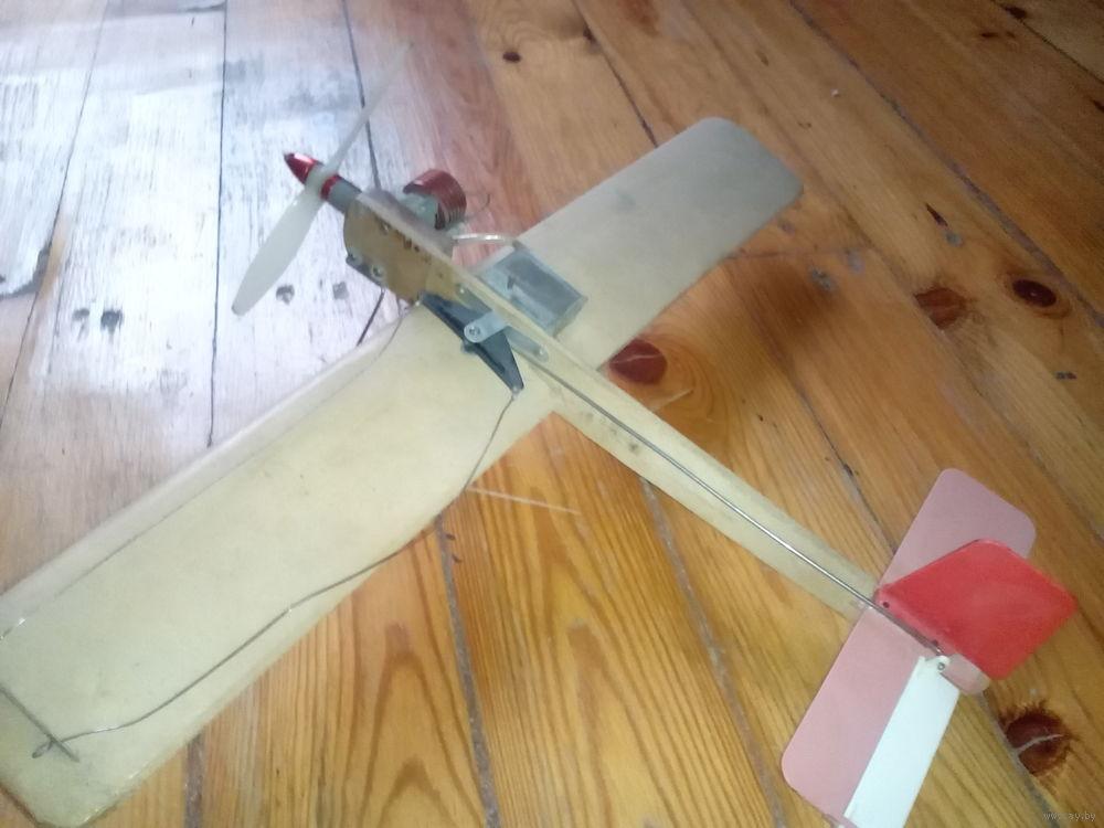 Кордовая модель самолета с электродвигателем своими руками 84